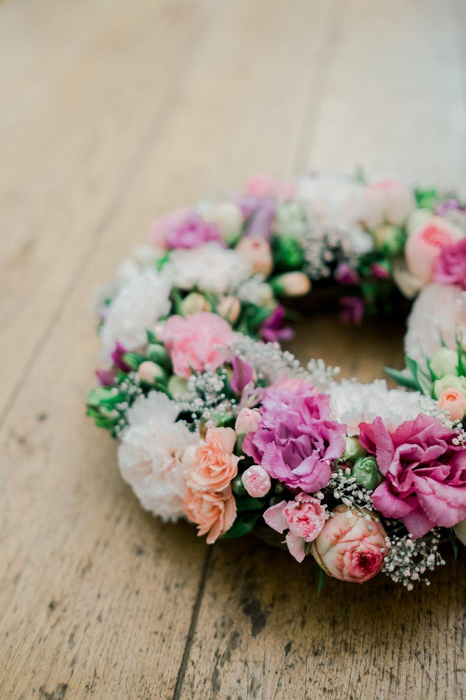gerbe de fleurs ixelles